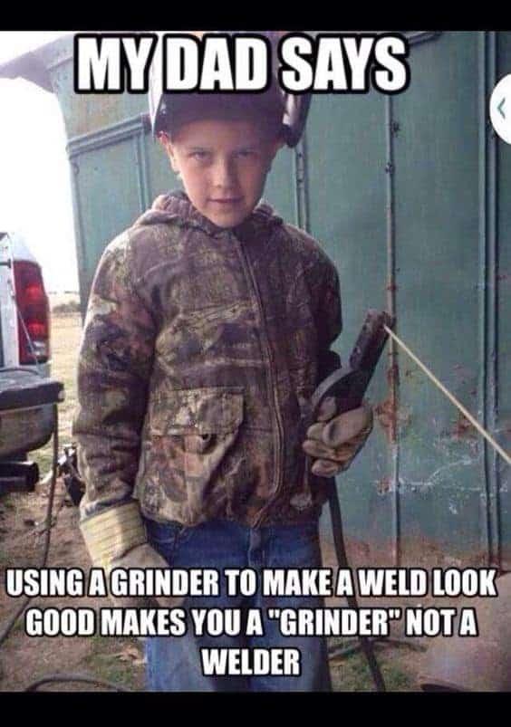 Grinder vs Welder Meme Best Angle Grinder